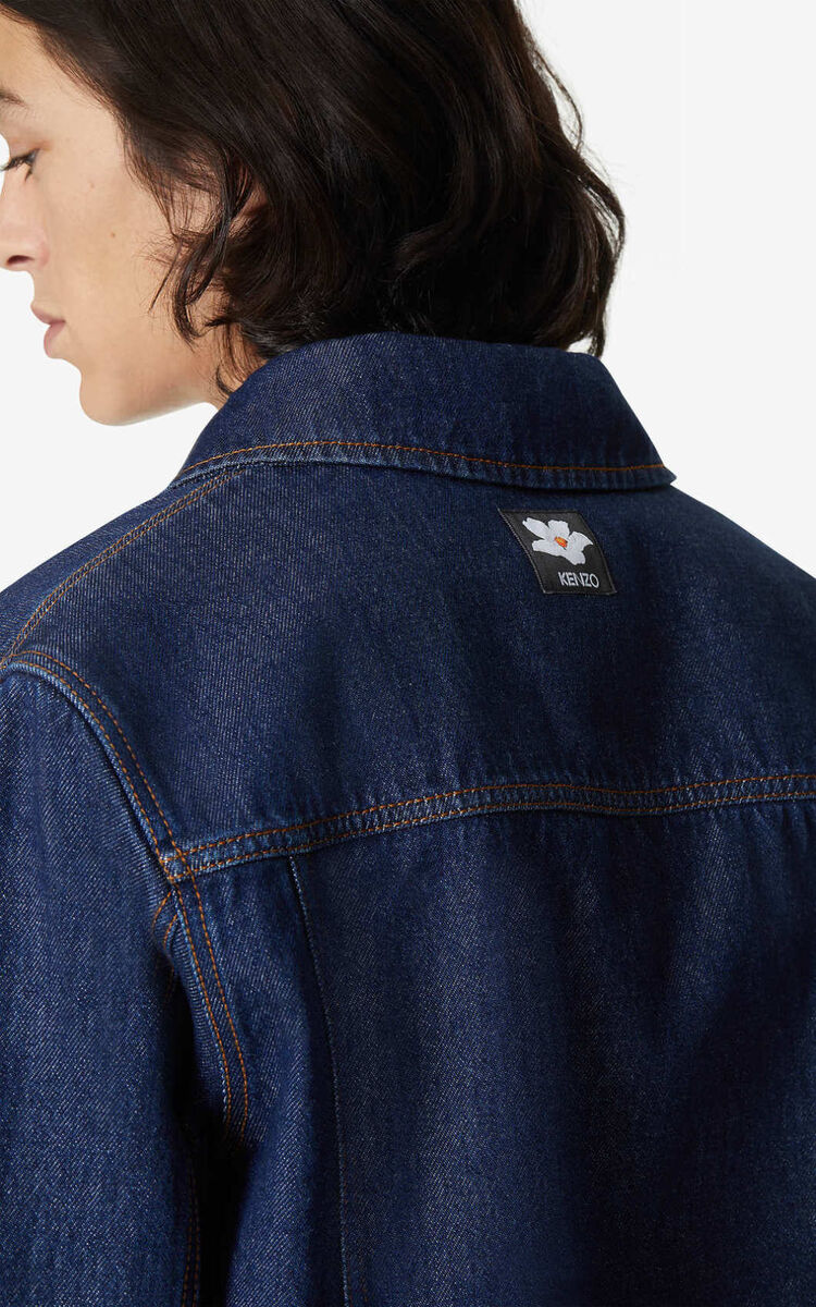 NAVY BLUE Denim Jacket for men KENZO