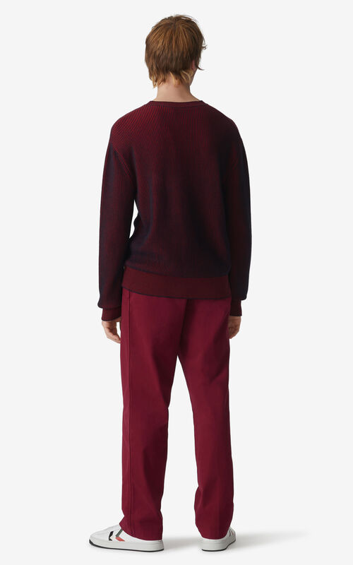 CARMINE Two-tone jumper for men KENZO