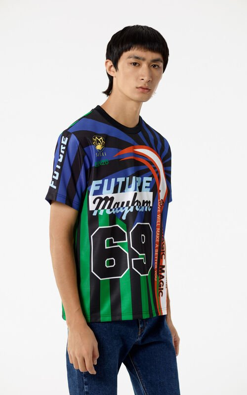 BRIGHT PURPLE 'Hyper KENZO' T-shirt for men