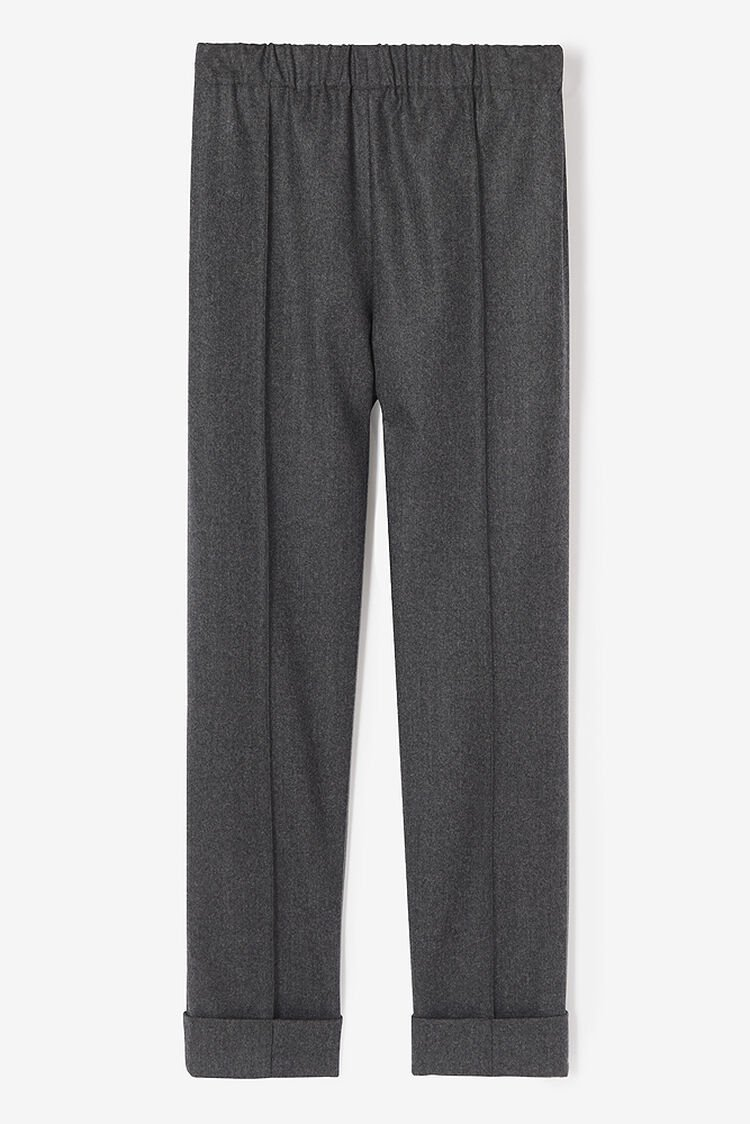 DARK GREY Flannel Pants for women KENZO