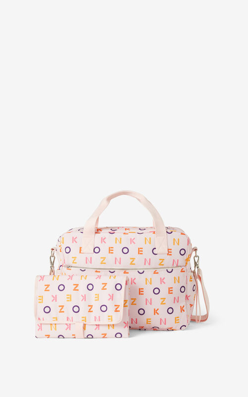 FADED PINK KENZO changing bag for women