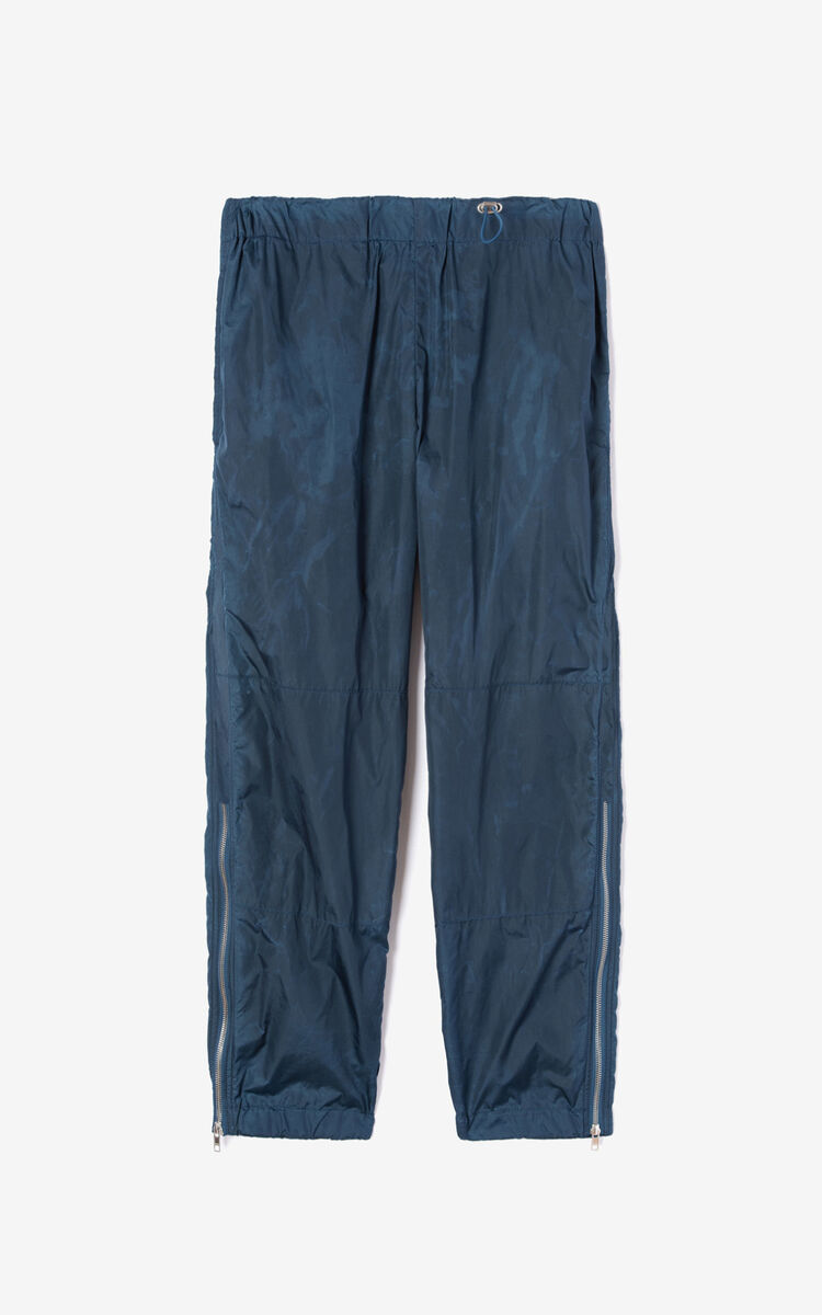DUCK BLUE Zipped trousers for men KENZO