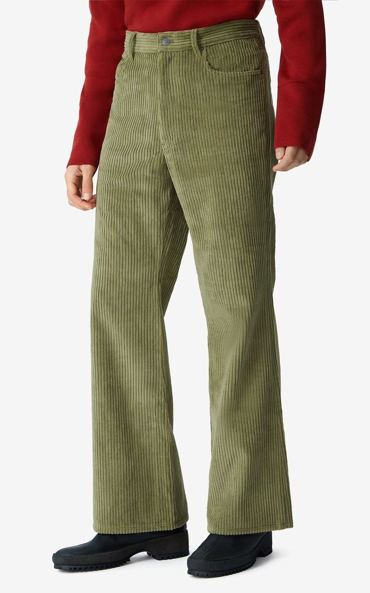 OLIVE Flared corduroy trousers for men KENZO