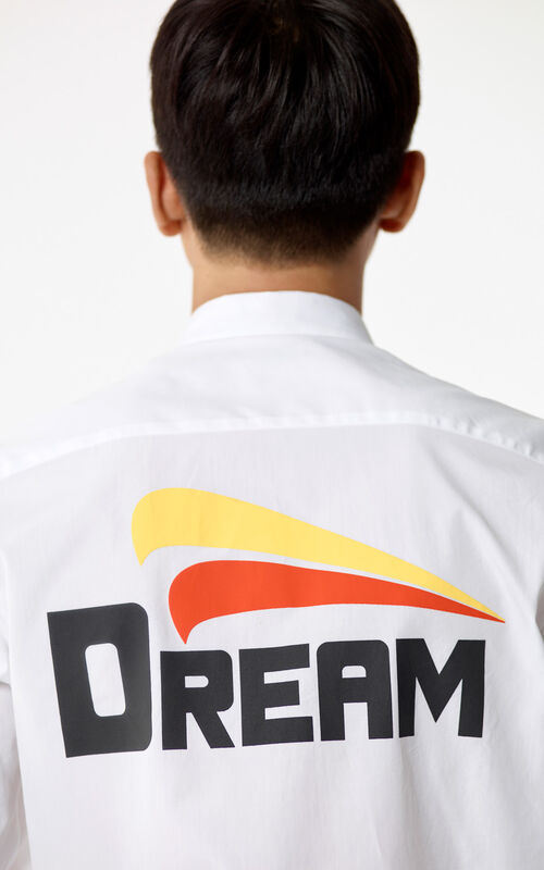 WHITE Dream' Shirt for men KENZO