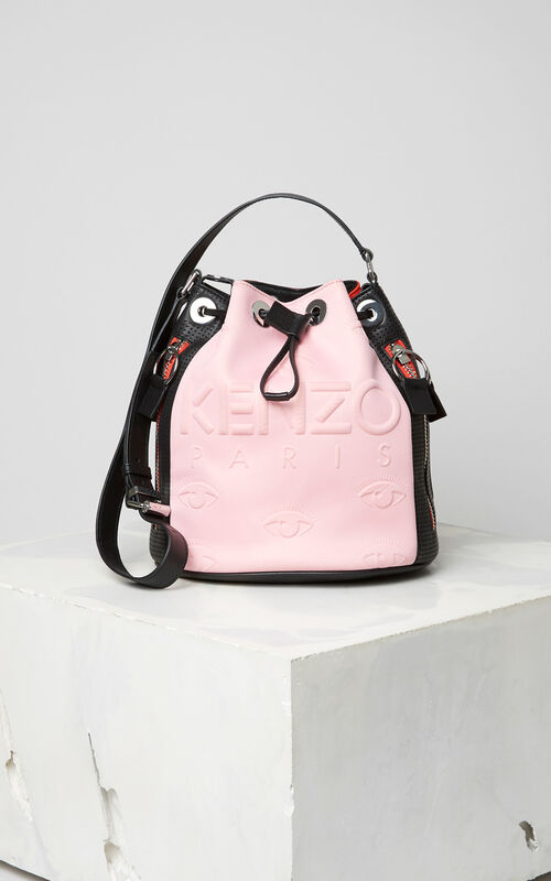 FLAMINGO PINK KENZO Kombo bucket bag for women