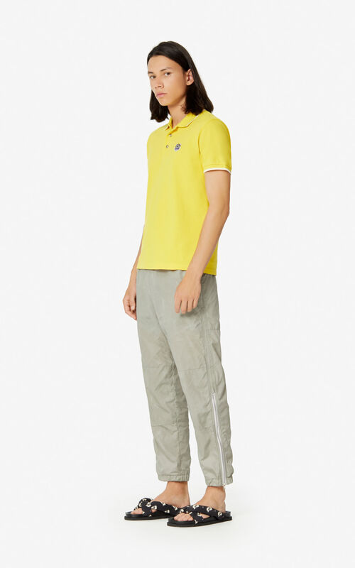 LEMON Fitted Tiger polo shirt  for men KENZO