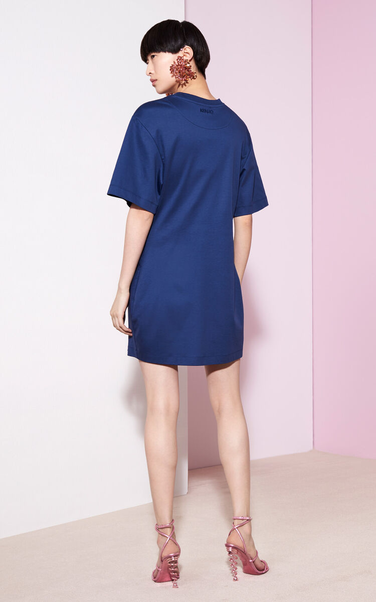 MIDNIGHT BLUE T-shirt Dress for global.none KENZO