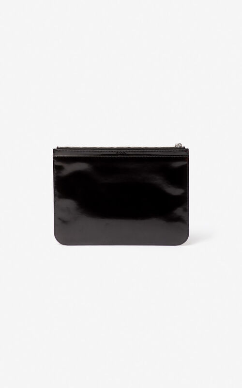 BLACK Tiger A4 clutch for women KENZO