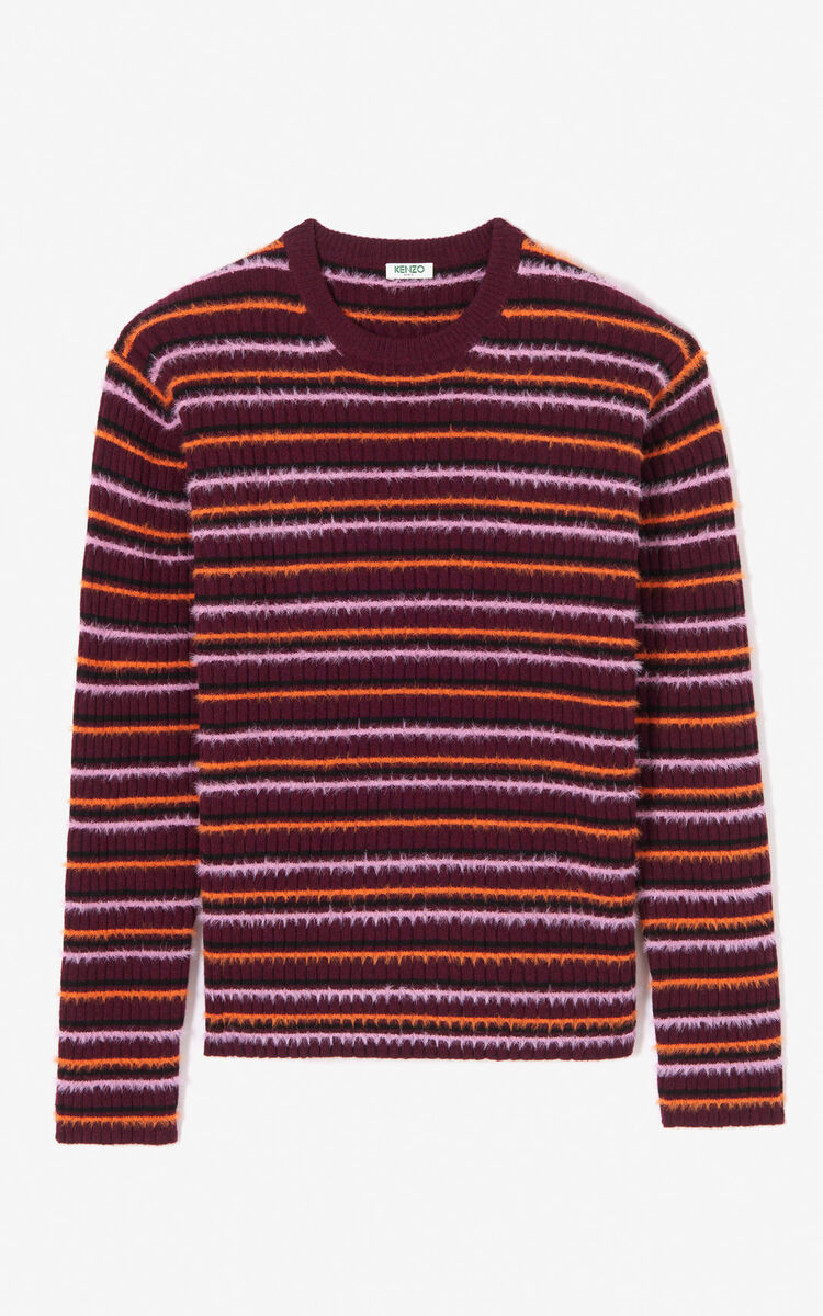 BORDEAUX Jumper with multicoloured stripes for men KENZO