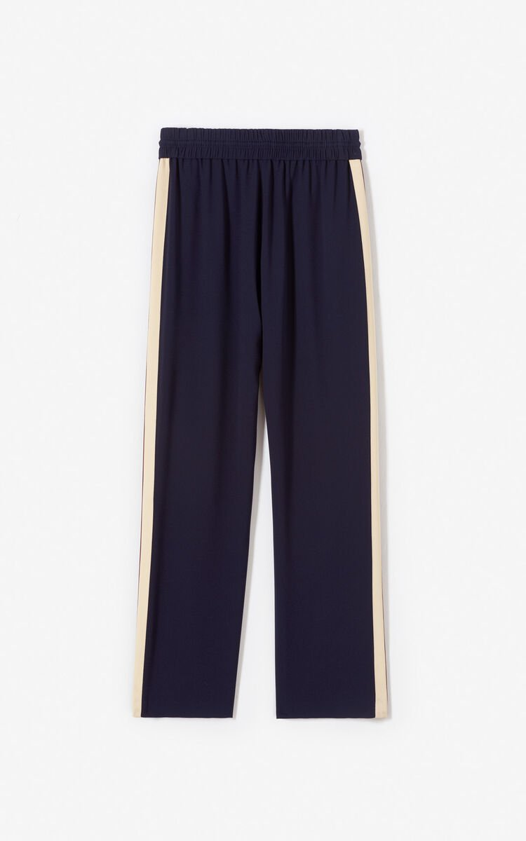 NAVY BLUE Loose-fit trousers for women KENZO
