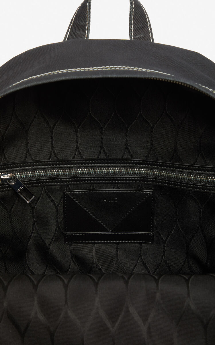 BLACK 'Tomato' backpack for men KENZO
