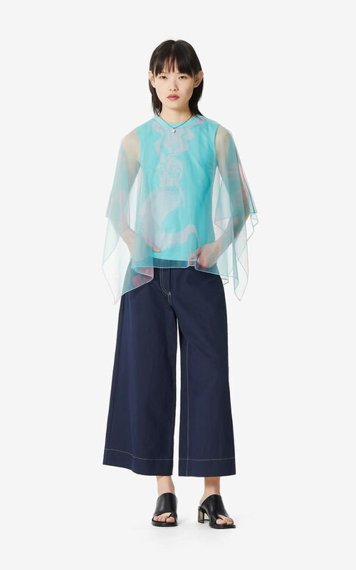 AQUA 'Mermaids' top for women KENZO