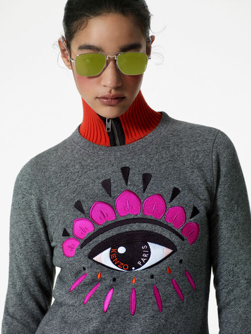 ANTHRACITE Eye Sweatshirt  for women KENZO