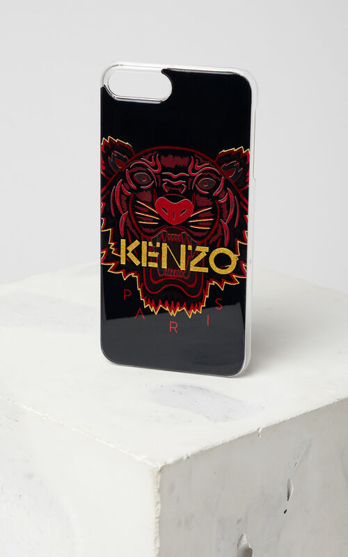 BLACK iPhone 7+ / 8+ Tiger Case for unisex KENZO