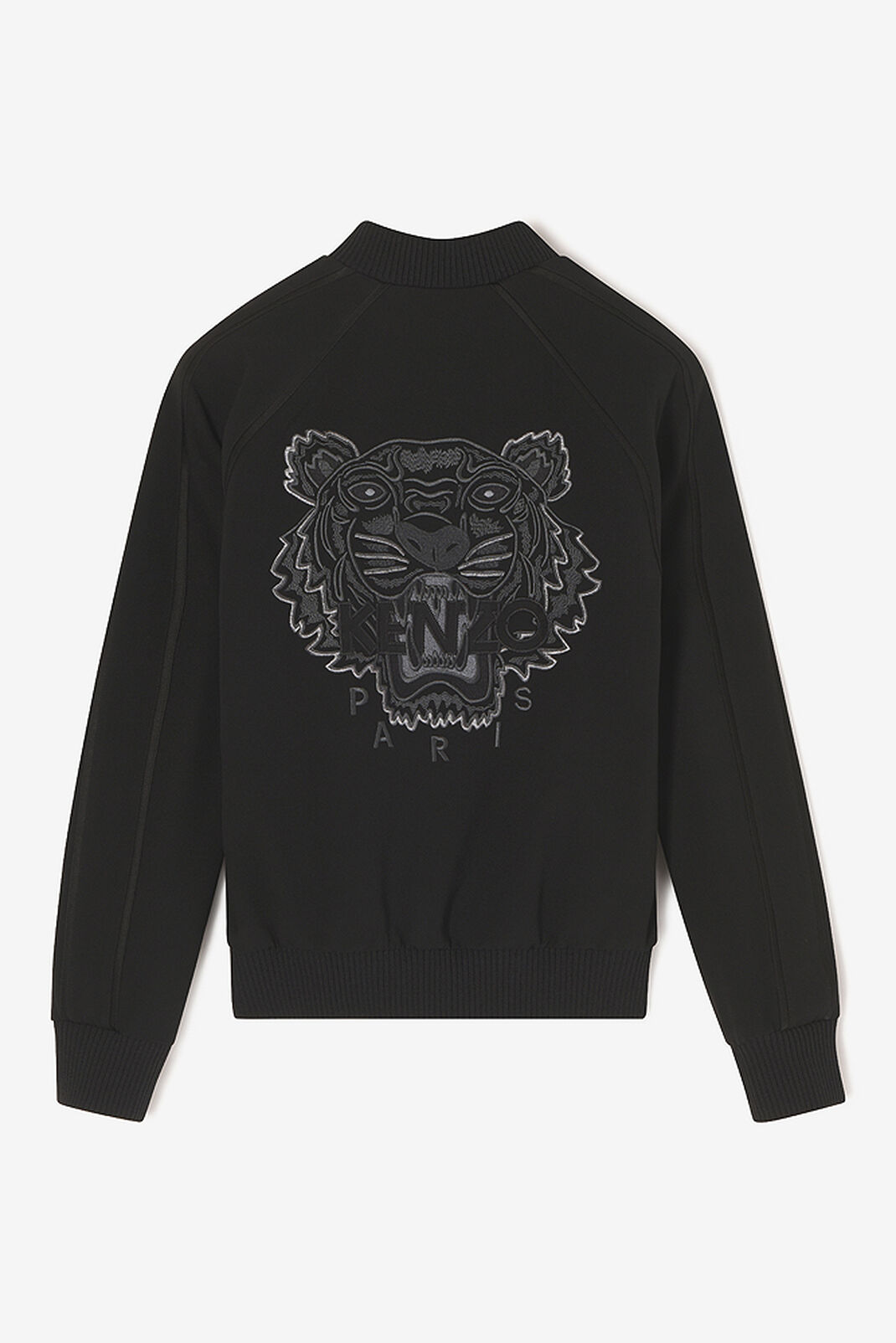 BLACK Tiger bomber jacket for women KENZO