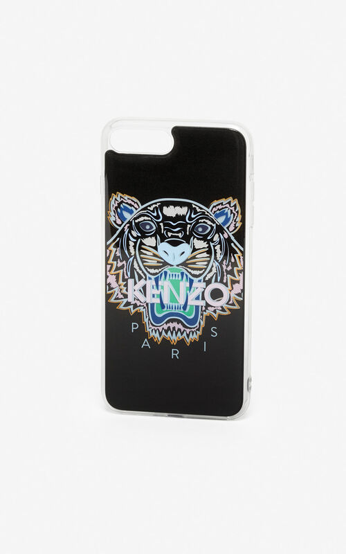 BLACK iPhone 8 Tiger case for unisex KENZO
