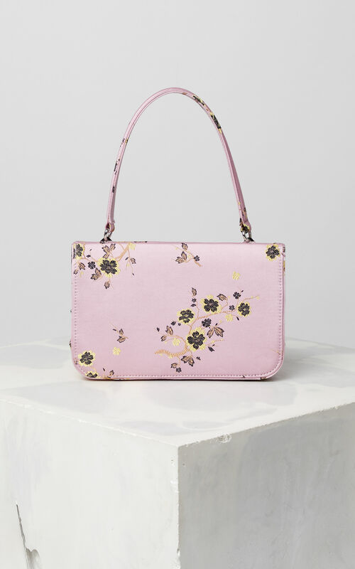 FADED PINK 'Cheongsam Flower' Kyoto bag for unisex KENZO