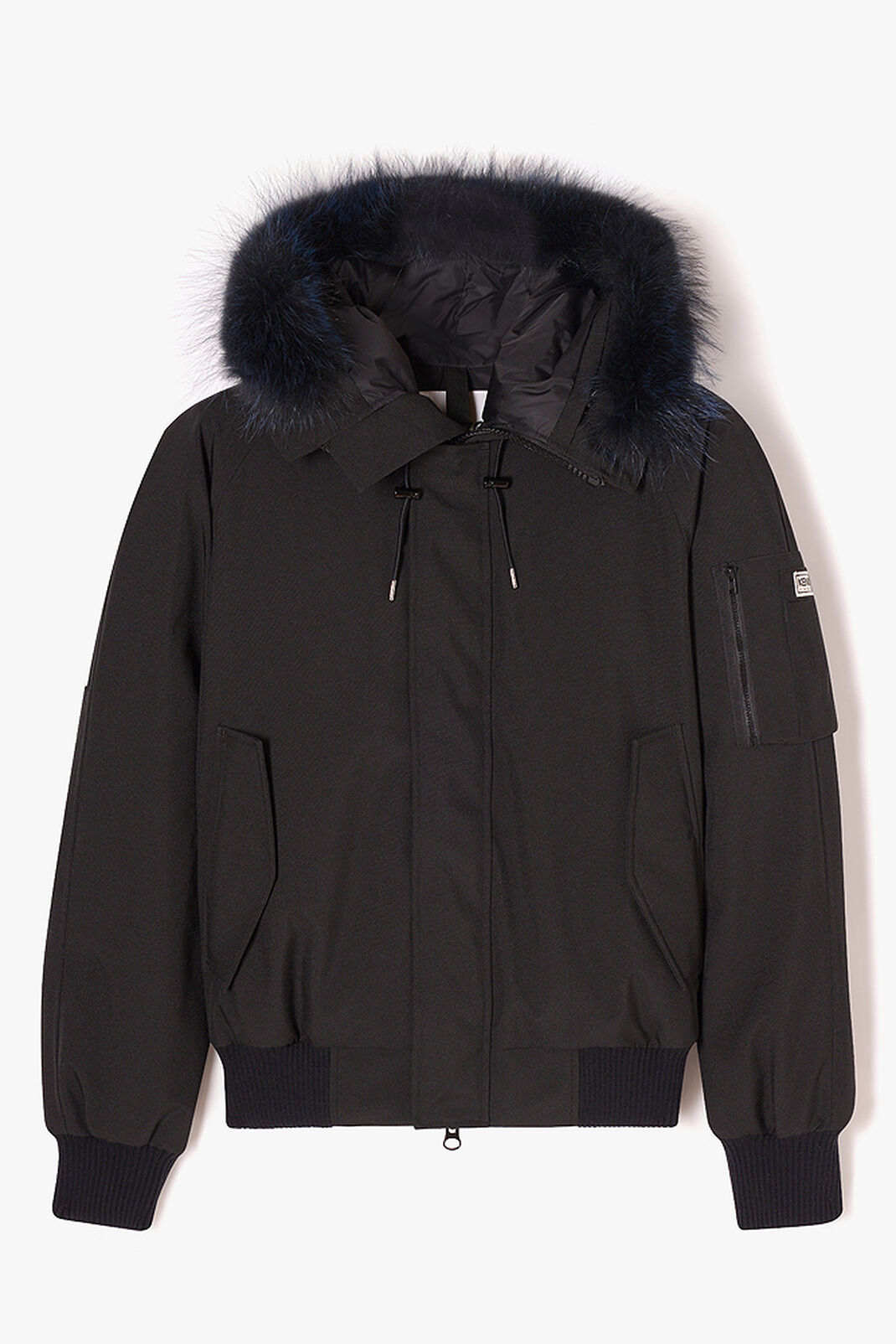 BLACK Short Parka Puffa for women KENZO