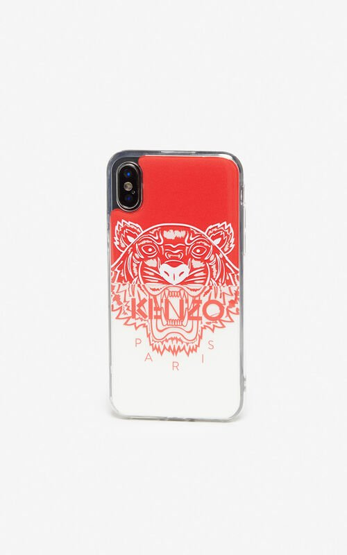 MEDIUM RED iPhone XS Max Tiger case for women KENZO