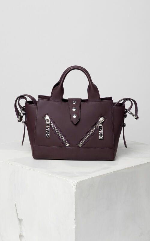 PRUNE Mini Kalifornia bag Gommato leather for unisex KENZO