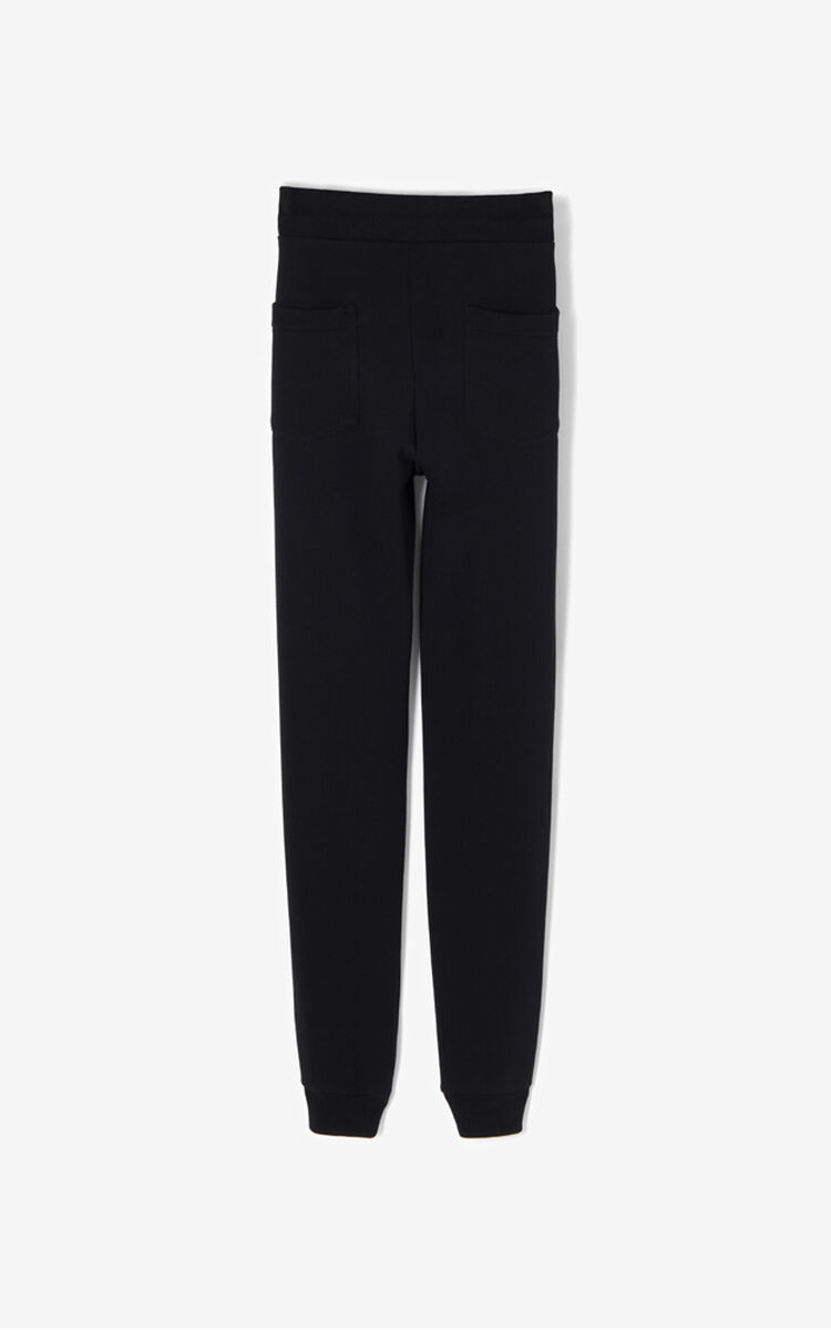 BLACK Tiger Crest Jogpants for women KENZO