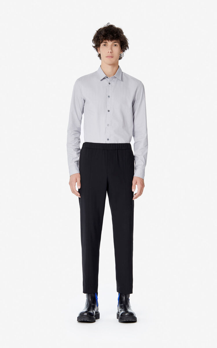 BLACK 'Holiday Capsule' trousers for men KENZO