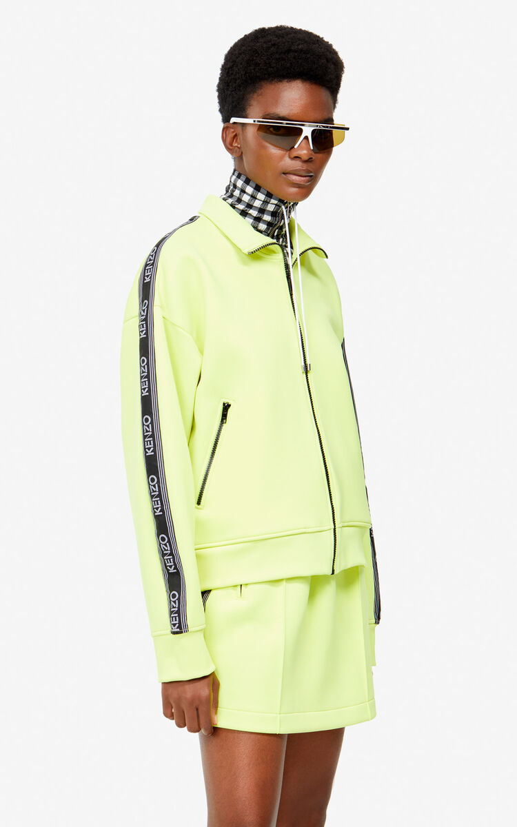 LEMON KENZO Logo jacket for women