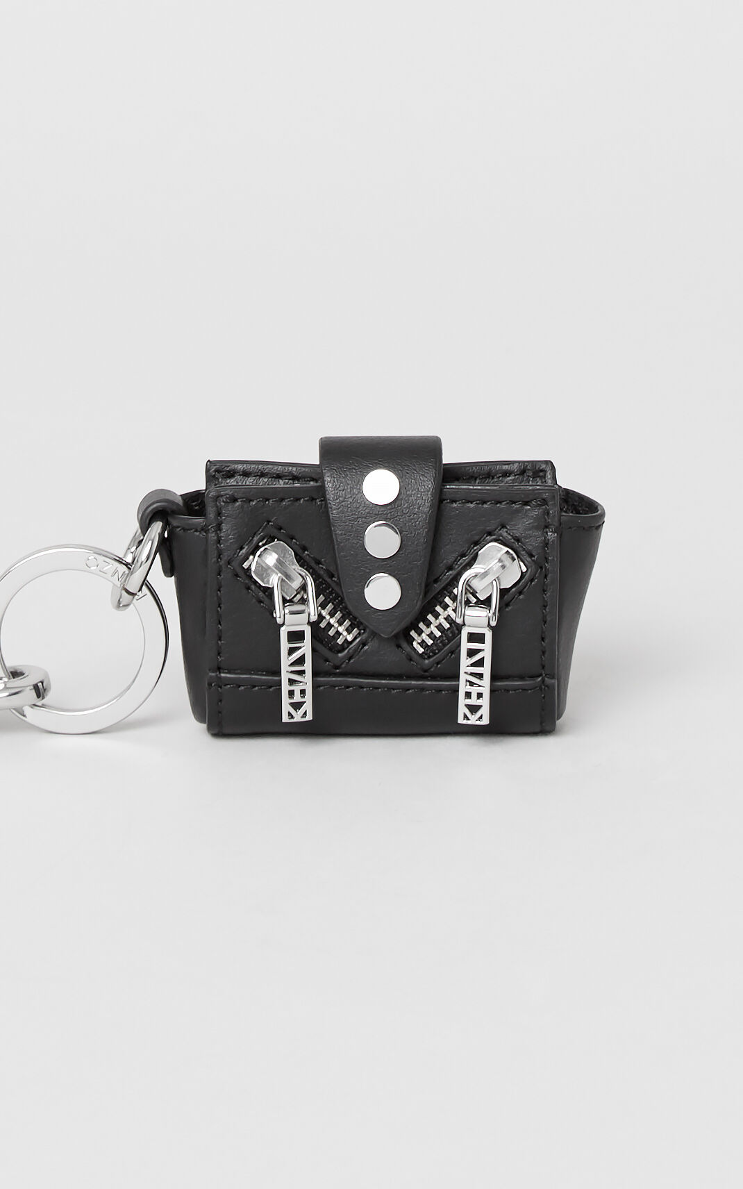 BLACK Mini Kalifornia Key Ring for unisex KENZO