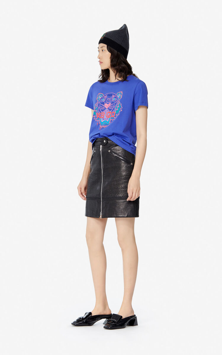 AUBERGINE 'Holiday Capsule' Tiger T-shirt for women KENZO