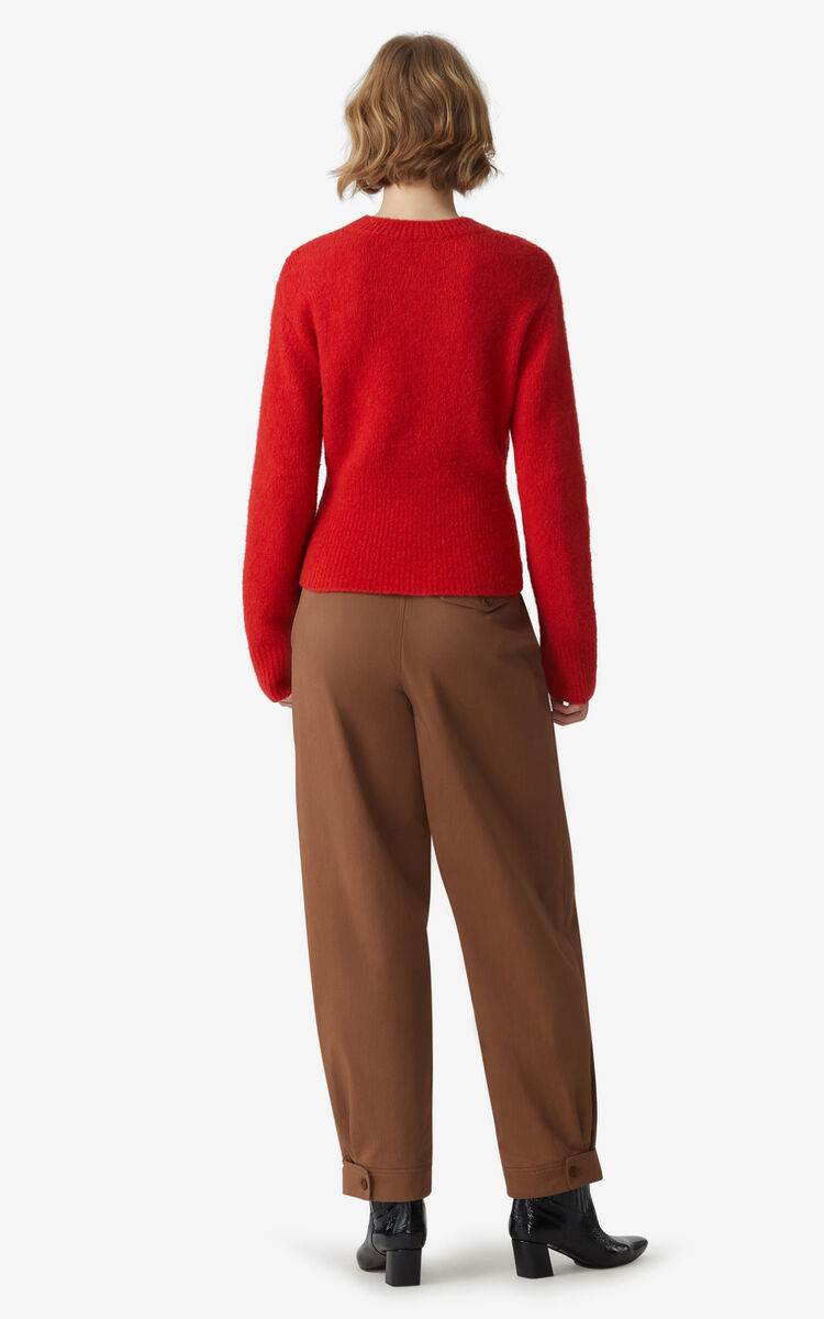VERMILLION Recycled cashmere jumper for women KENZO