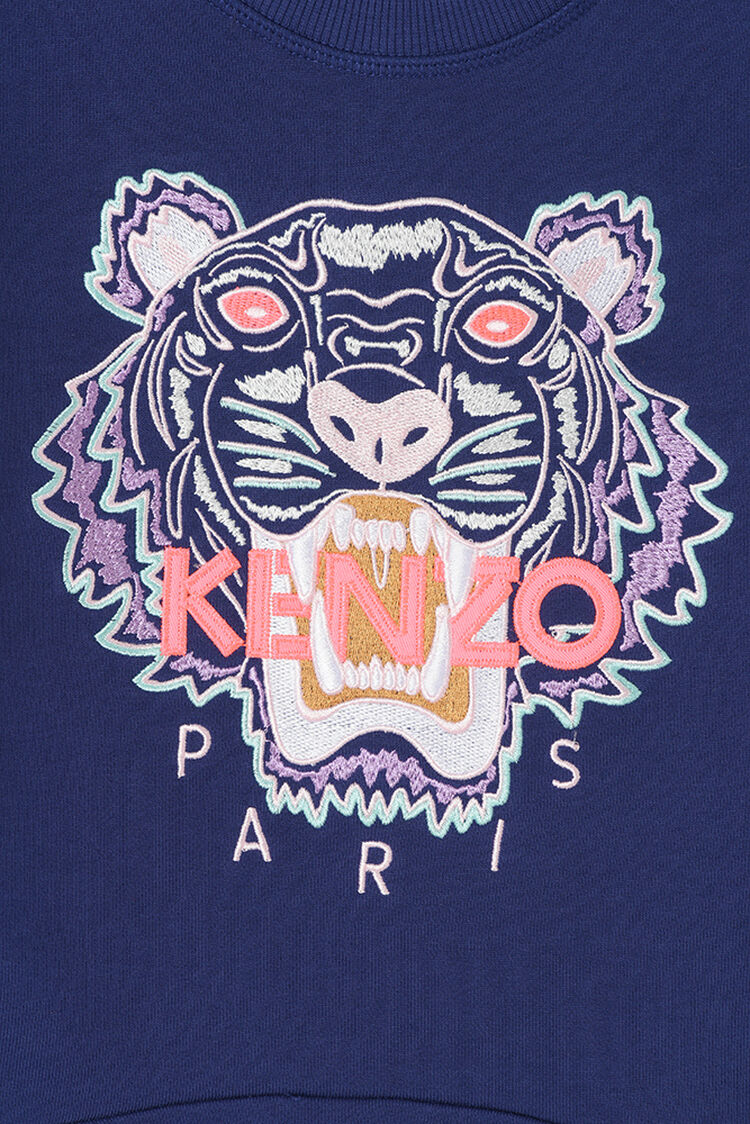BRIGHT PURPLE Tiger Skater Dress for women KENZO