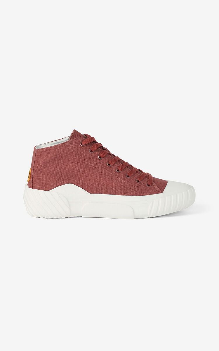 DARK ROSE Tiger Crest high-top trainers   for unisex KENZO