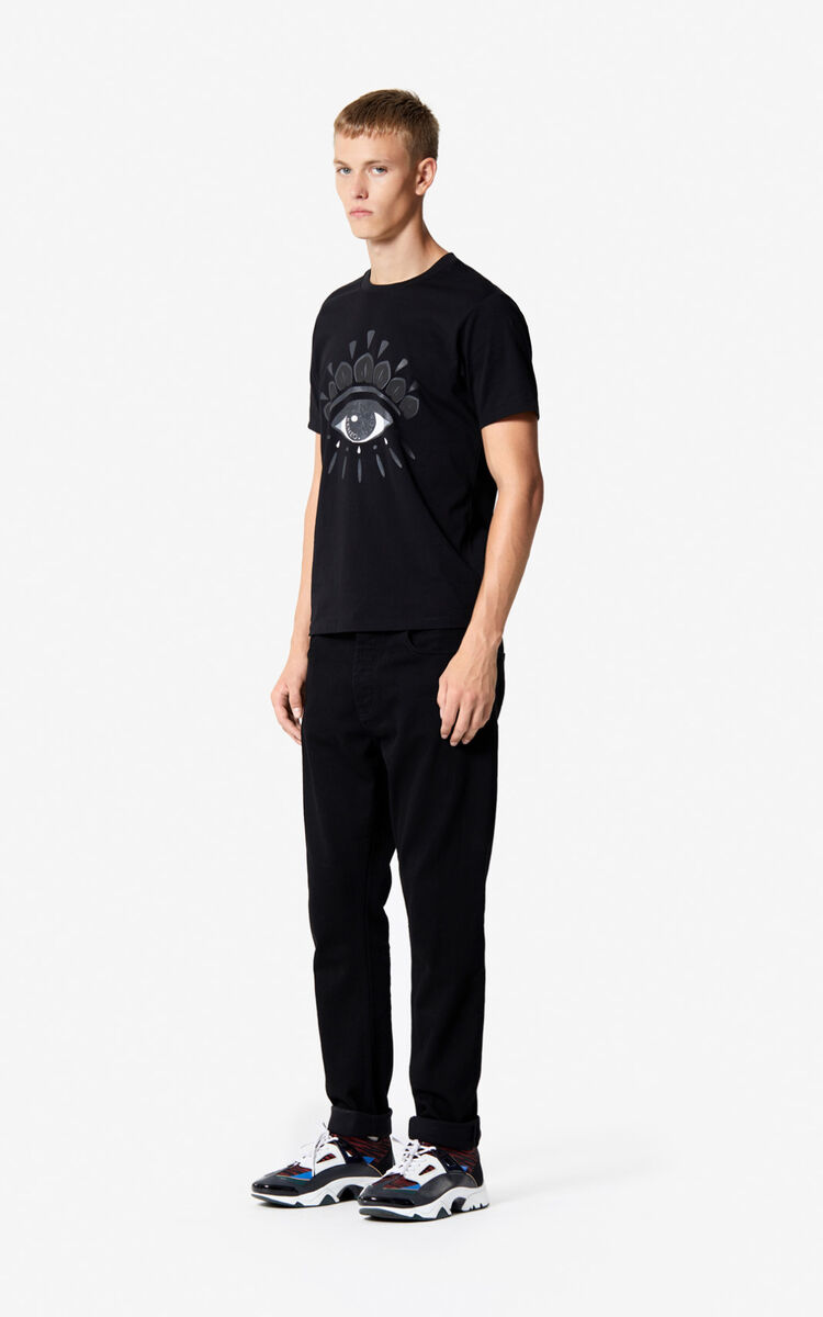 BLACK Eye t-shirt for men KENZO