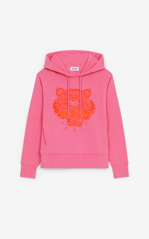 MENTHOL Tiger hoodie for unisex KENZO