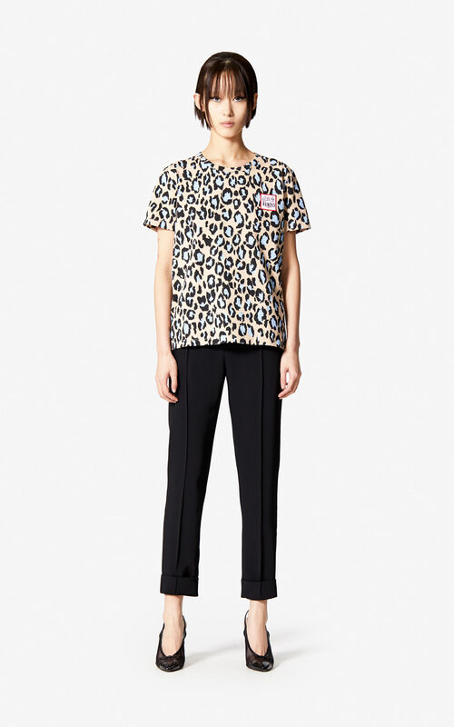 SAND 'Leopard' t-shirt for women KENZO