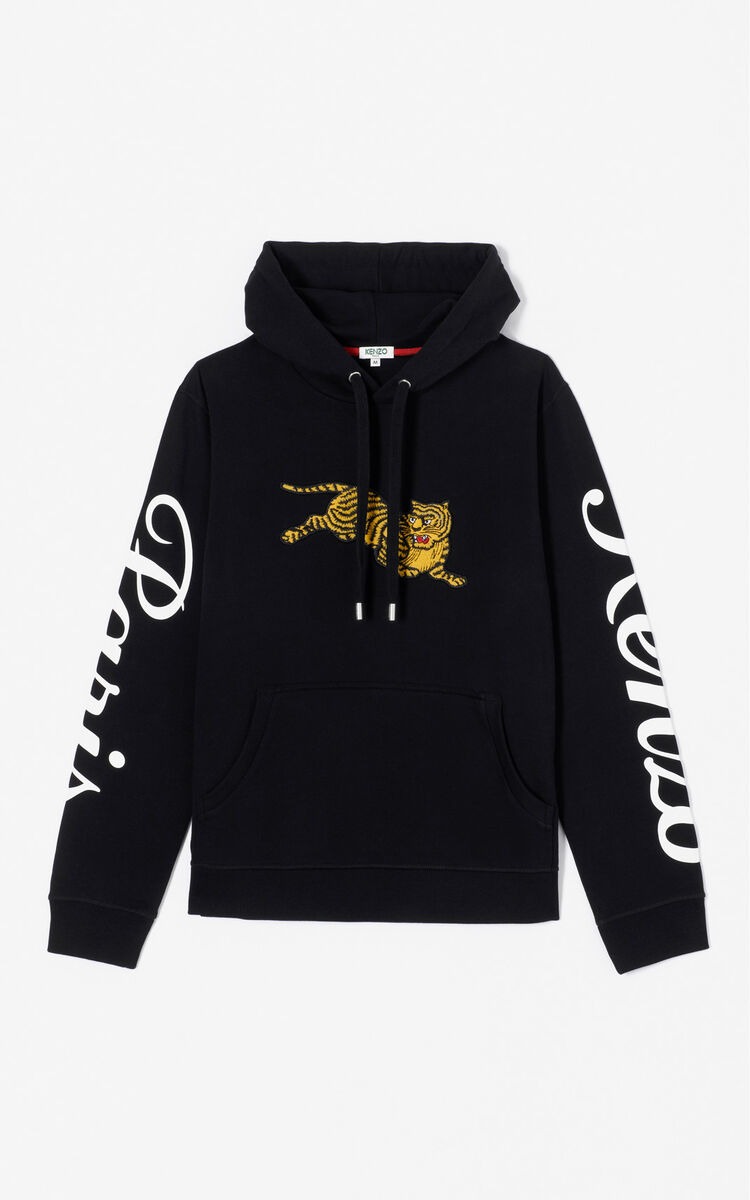 Jumping Tiger  hoodie  Golden Week capsule  for LAST CHANCE Kenzo ... 44a0937a3bd4