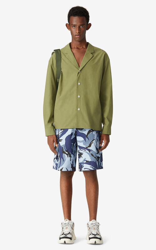 OLIVE Shirt jacket for men KENZO