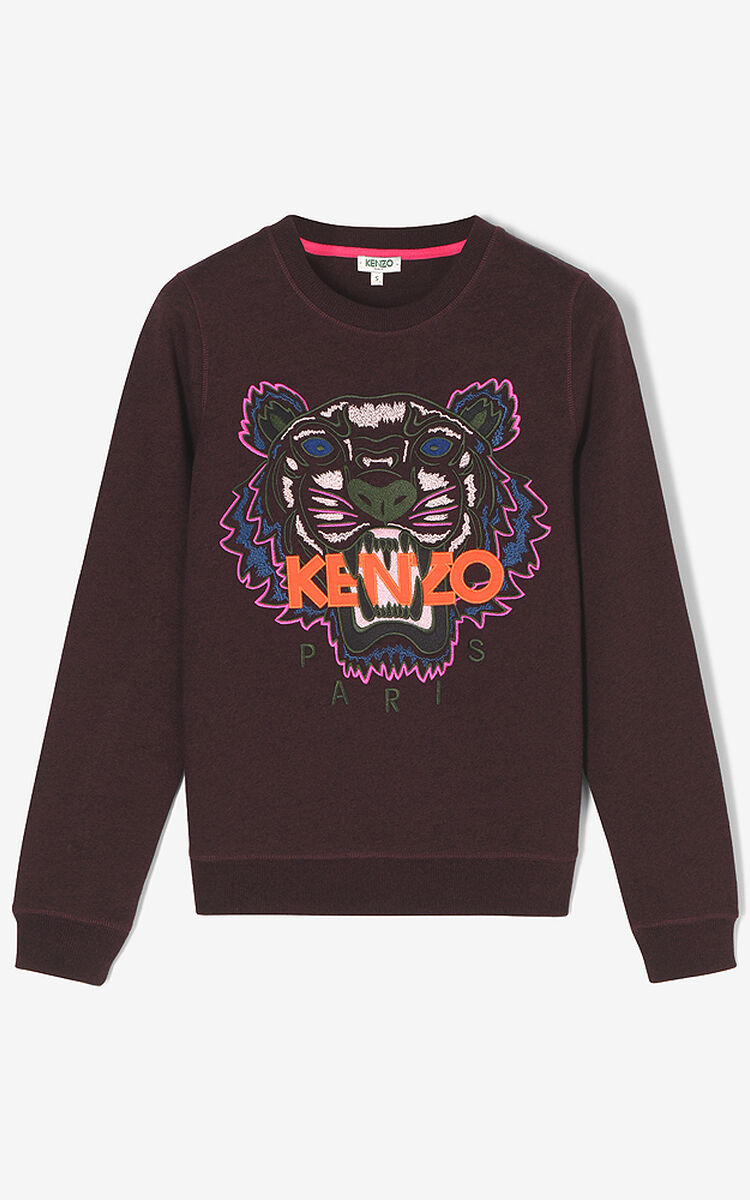 PRUNE Tiger sweatshirt for women KENZO