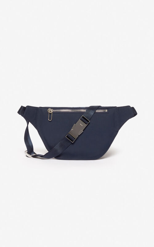 MIDNIGHT BLUE 'Valentine's Day Capsule' 'Lucky Star' bumbag for unisex KENZO