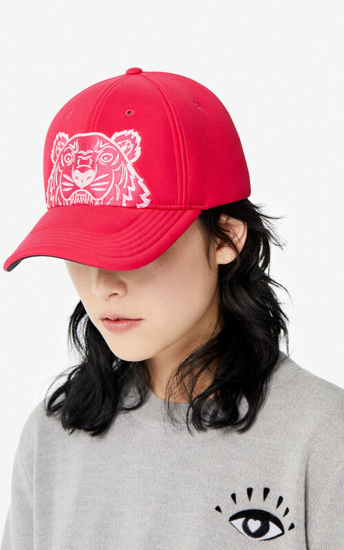 DEEP FUSCHIA Tiger cap for women KENZO
