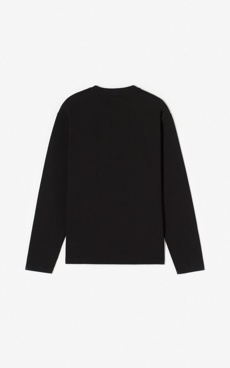 BLACK 'Tiger Mountain' 'Capsule Expedition' T-shirt for women KENZO