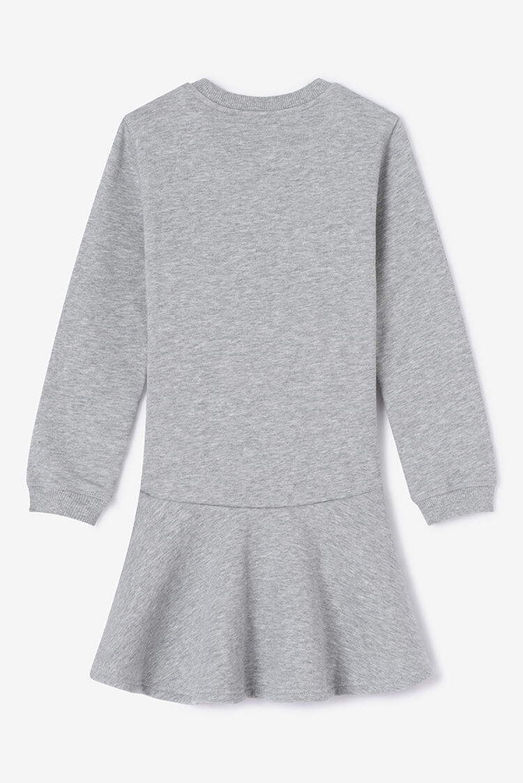 PEARL GREY Tiger Skater Dress for women KENZO
