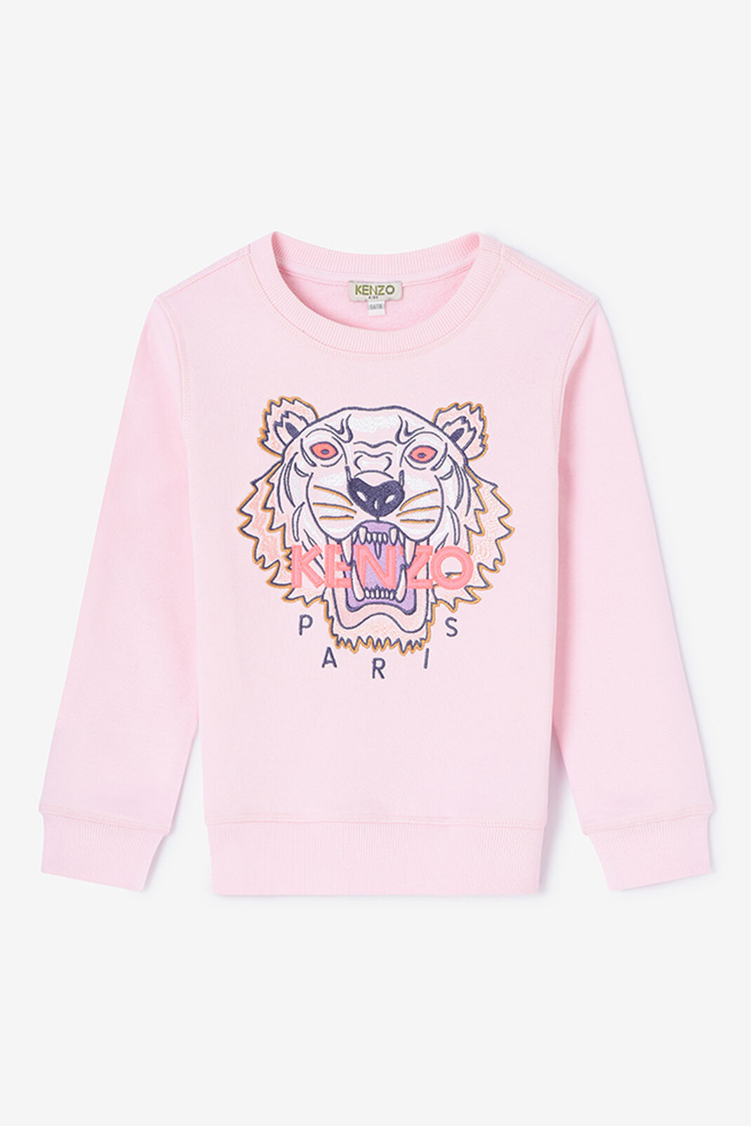 FADED PINK Tiger Sweatshirt for men KENZO