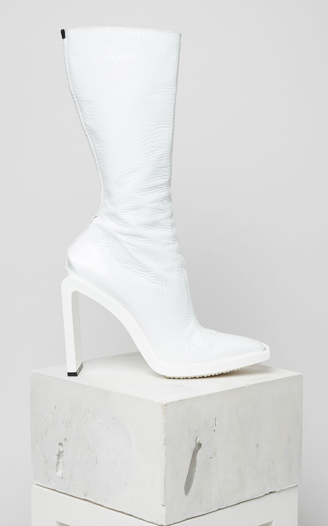 WHITE Kea Heeled Boots for women KENZO