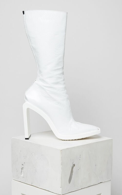 WHITE Kea Heeled boot for women KENZO