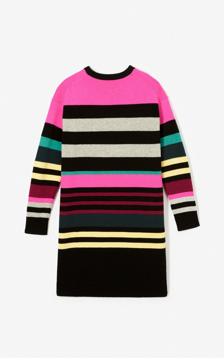 MULTICOLOR 'Double Tiger' jumper dress  for women KENZO