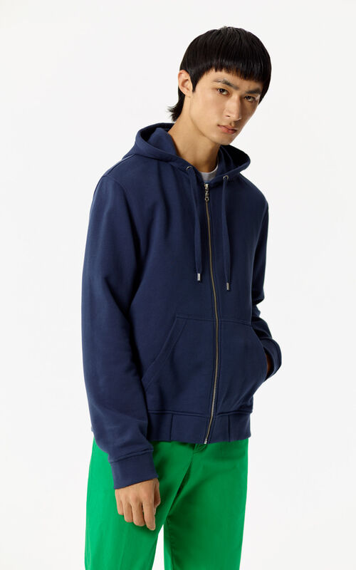 INK Hooded zipped Tiger sweatshirt for men KENZO