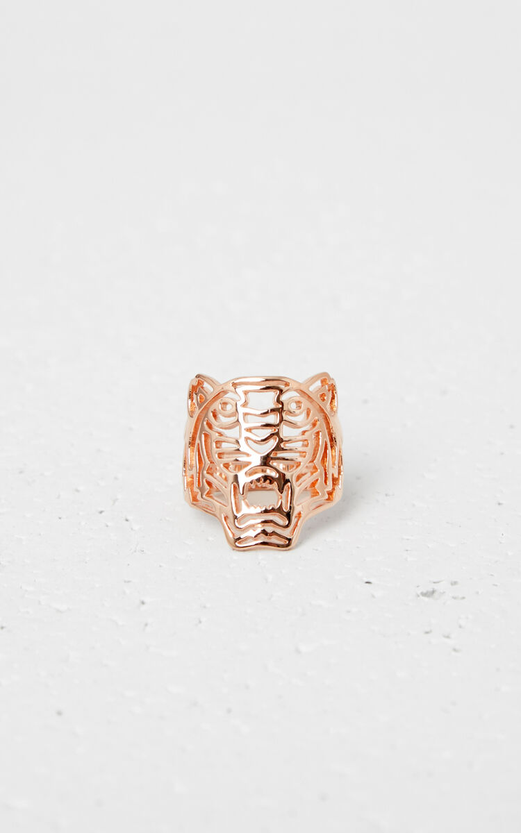 GOLD Medium Tiger ring for global.none KENZO