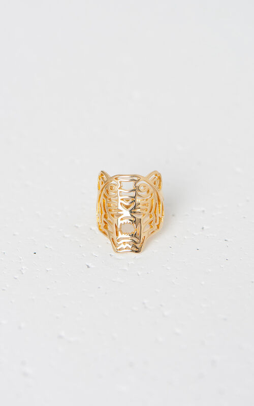 LICENCE 1 Medium Tiger Ring for unisex KENZO