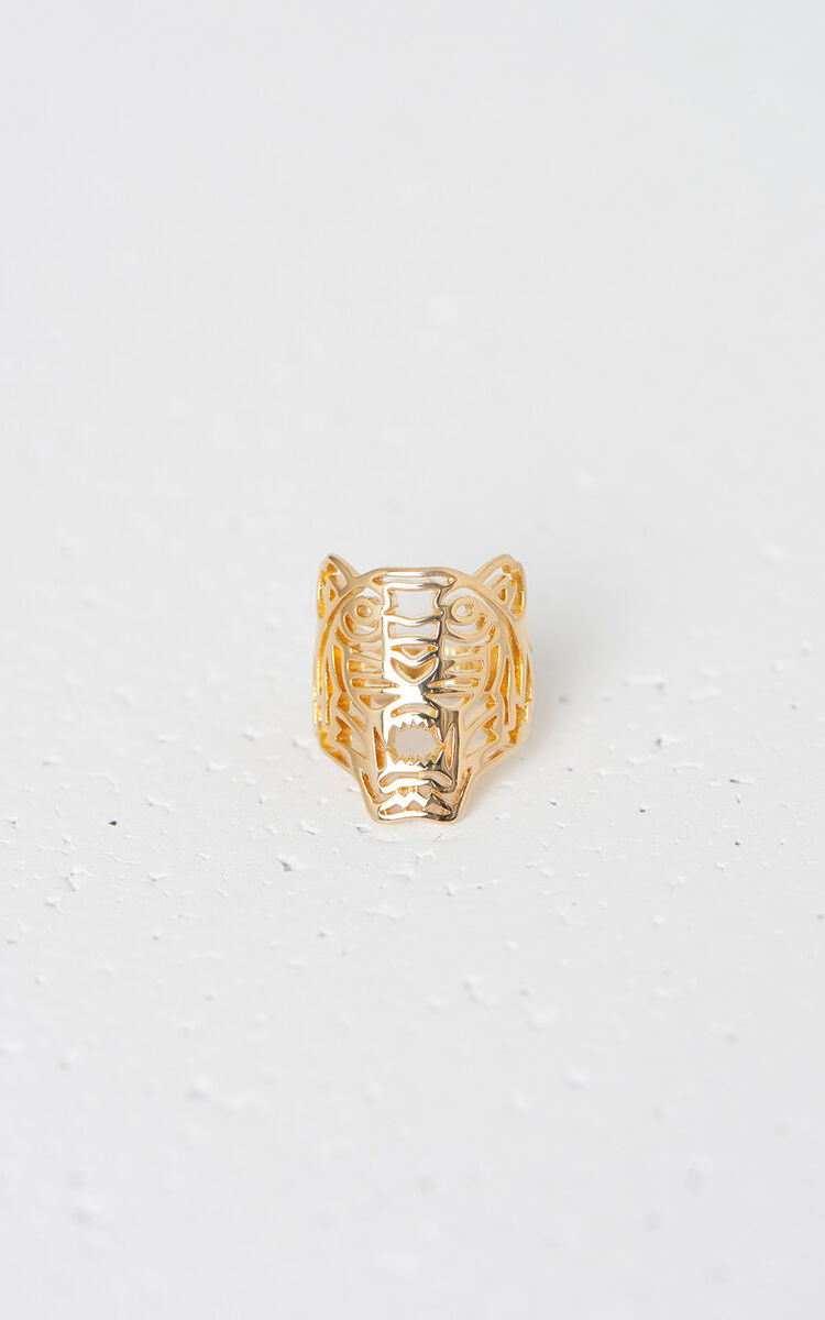 LICENCE 1 Medium Tiger Ring for women KENZO